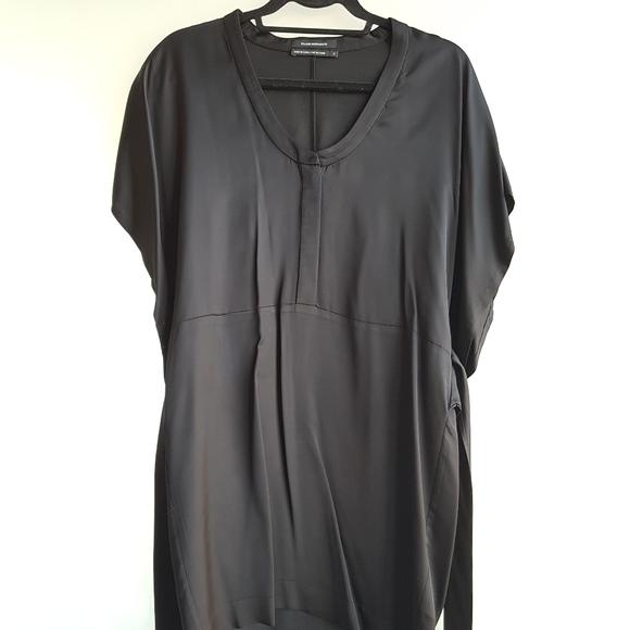 Club Monaco kimono black Mini dress